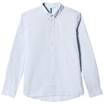 United Colors of Benetton Long Sleeve Shirt Light Blue Light Blue