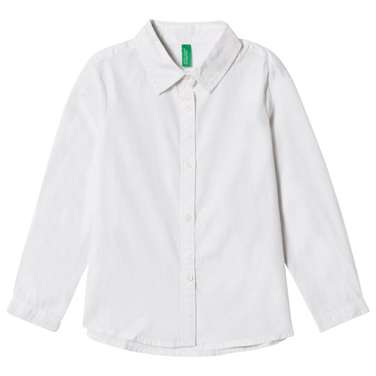United Colors of Benetton L/S Oversized Shirt White White