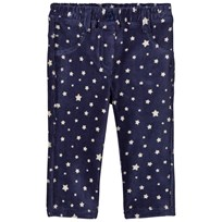 United Colors of Benetton Star Print Manchester Jeggings Marinblå Navy