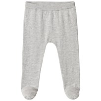 United Colors of Benetton Footed Knit Bottoms  Grey Black