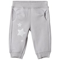 United Colors of Benetton Star Print Jogger Trousers Grey Black