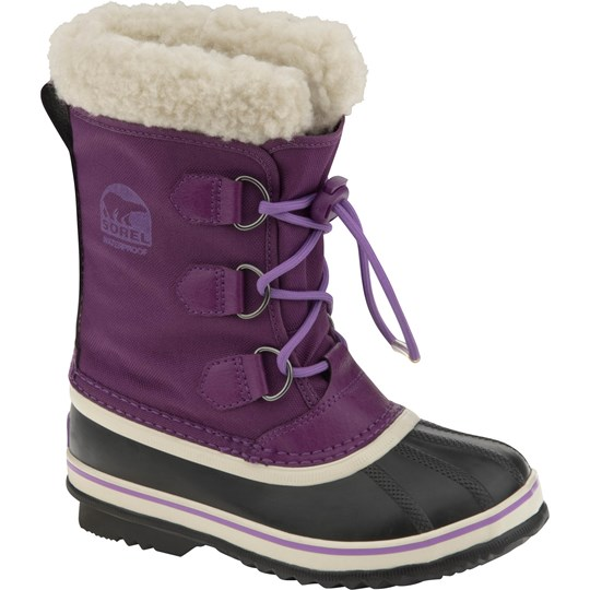 Sorel Purple Yoot Pac Nylon Boots Purple
