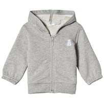 United Colors of Benetton Hooded Bear Jacket Grey Black