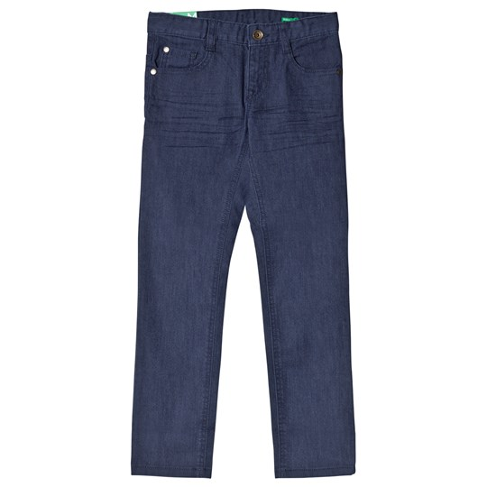 United Colors of Benetton Stretch Skinny 5 Pocket Coloured Denim Trouser Navy Navy