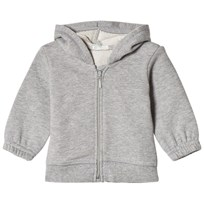 United Colors of Benetton Zip Hooded Jacket With Ears Grey Black