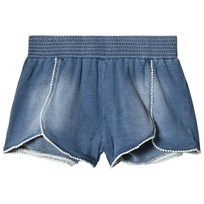 United Colors of Benetton Denim Look Shorts Blå Blue