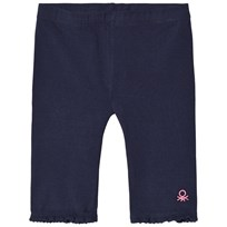 United Colors of Benetton Jersey 3/4 Leggings Marinblå Navy