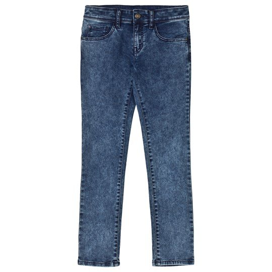United Colors of Benetton Skinny Fit Washed Jeans Blå Blue