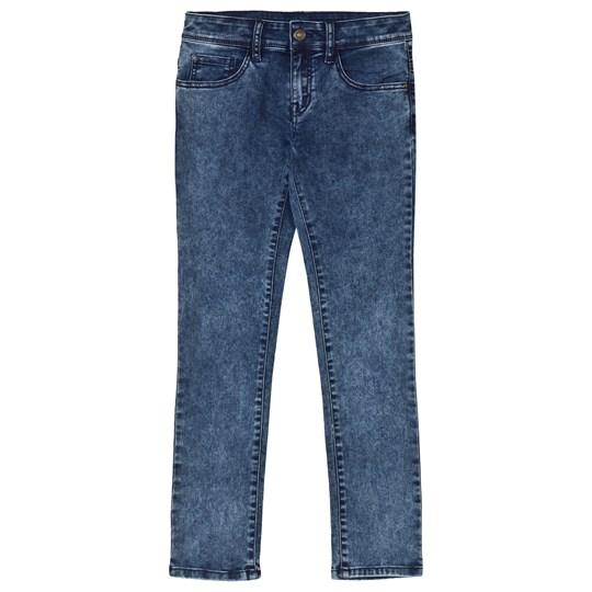 United Colors of Benetton Stretch Skinny Washed Denim Trouser Blue Blue