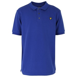 Image of Lyle & Scott Royal Blue Polo with Emblem 3-4 years (475030)