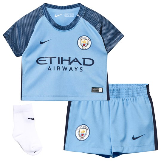 Manchester City FC Infants Manchester City FC Home Kit FIELD BLUE/MIDNIGHT NAVY/MIDNIGHT NAVY