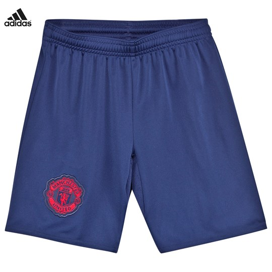 Manchester United Man United FC Away Shorts DARK BLUE/REAL RED S10