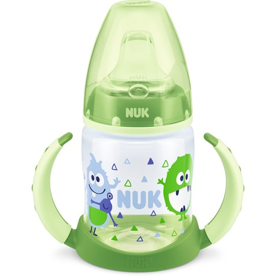 NUK Drickpipsflaska, First Choice+, 150 ml, Grön Green