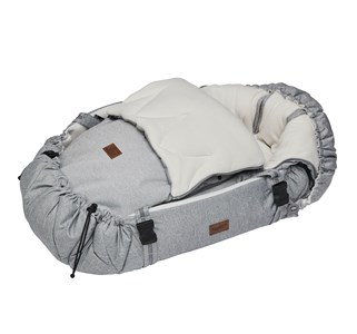 Image of Najell Footmuff WinterCover Morning Grey (2839690069)