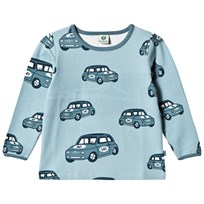 Småfolk Blur T-Shirt with Car Print 708