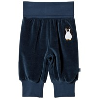 Småfolk Navy Baby Sweatpants With Penguin