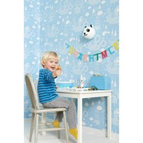 Majvillan Dragon Sky Wallpaper Light Blue Blue