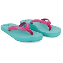 Reef Turquoise Little Stitched Sandals Green