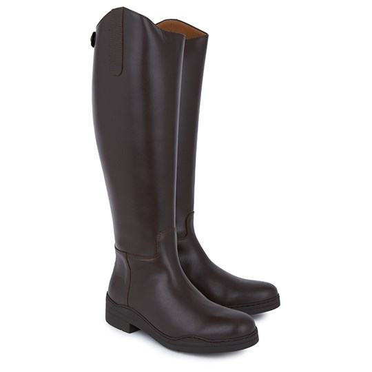 Regent Brown Ranch Rider Boots BROWN