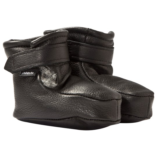 Lindberg Booties Wool Black Black