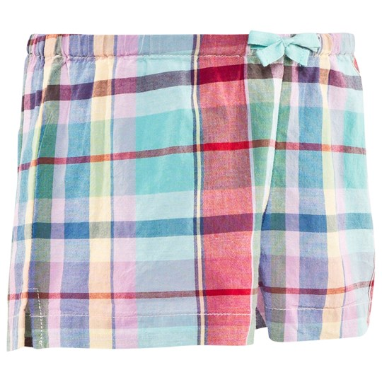Ralph Lauren Plaid Rutig Shorts Mint/Blå Multi Mint/blue Multi