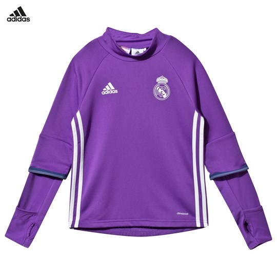 Real Madrid Real Madrid Training Top RAY PURPLE F13/CRYSTAL WHITE S16