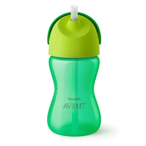 Image of Philips Avent Straw Cup 12m+ 300ml Green (3140443967)