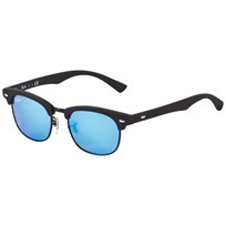 Ray-ban Blue Mirror Lense Black Frame Sunglasses 100S55