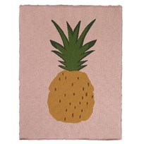 ferm LIVING Pineapple Blanket Multi