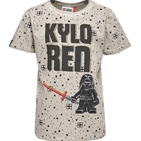 Lego Wear T-shirt, Teo, Light Grey Black