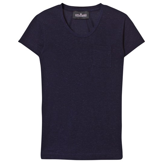 Little Remix Jr New Blos Tee Navy Navy