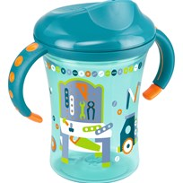 NUK Mugg, Trainer Cup, 250 ml, Turkos Green