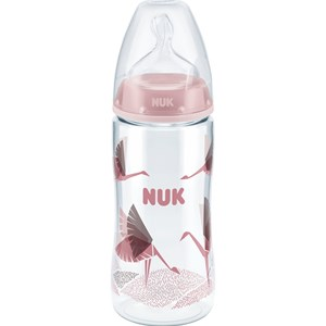 Image of NUK Nappflaska, First Choice+, Anti Kolik, 300 ml, Rosa (3125361231)