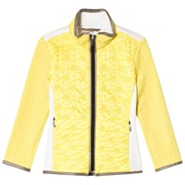 Sportalm Yellow High Neck Fleece Jacket 61 Aurora