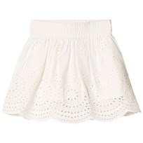 Stella McCartney Kids Off White Reya Broderie Anglaise Skirt 9082