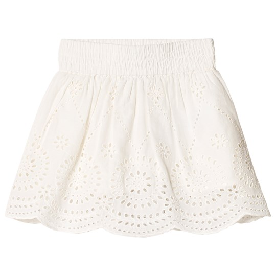 Stella McCartney Kids Off White Reyna Embroidery Anglais Skirt 9082