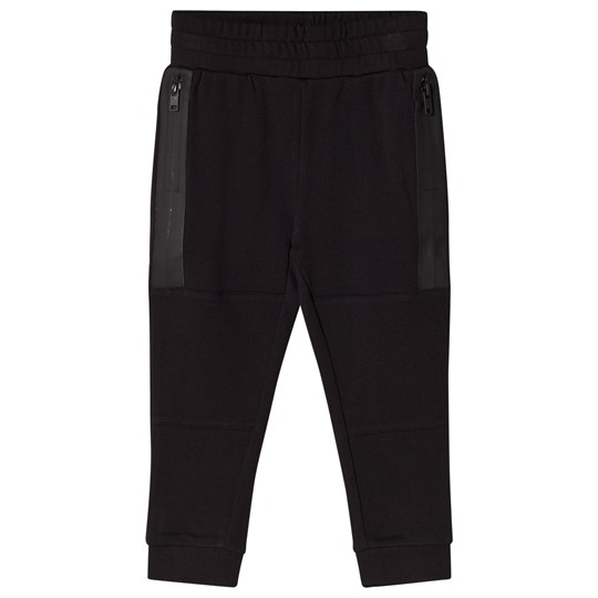 Stella McCartney Kids Black Zip Detail Spike Sweat Pants 1073