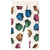 Stella McCartney Kids Cream Emilie Shells Print Sweatpants 9233