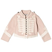Stella McCartney Kids Pink Will Military Jacket 5768