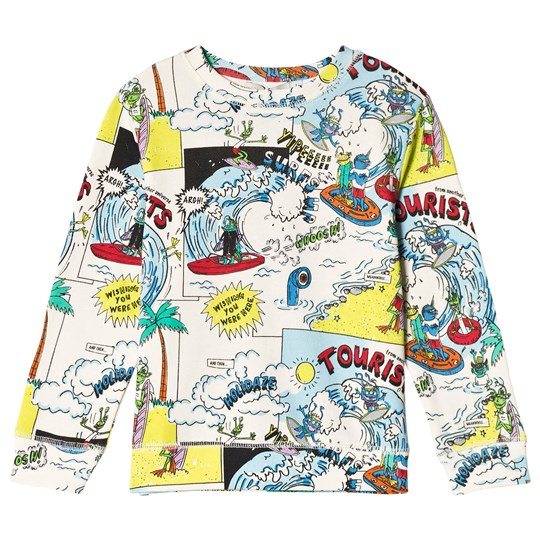 Stella McCartney Kids Multi Biz Tourist Print Sweatshirt 9085