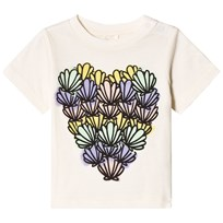 Stella McCartney Kids Chuckle Shells Heart Print Tee 9232