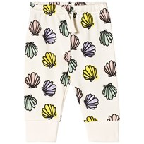 Stella McCartney Kids Cream Tootie Shell Print Sweatpants 9580