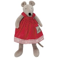 Moulin Roty Large Nini the Mouse Red