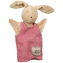 Moulin Roty Sylvain the Rabbit Hand Puppet Red
