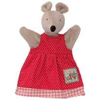 Moulin Roty Nini The Mouse Hand Puppet Red