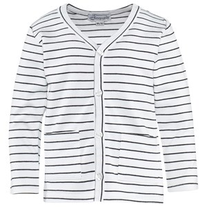 Image of My Only Stripe Cardigan Black/White 98 cm (2841380977)
