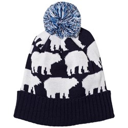 Perfect Moment Navy/White Multi Bear Hat