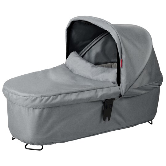 Phil and Teds Dash Snug Carrycot Grey Marl Sort