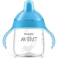 Philips Avent Spout Cup No Drip 260ml blue PREMIUM Blue