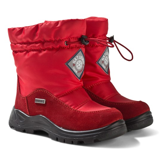 Naturino Varna Red Snow Boots 9106
